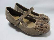 EARTH SPIRIT Tan Leather Mary Jane's Women's Size 7 Medium EUC