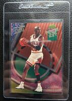 1993 94 ULTRA POWER IN THE KEY #2 MICHAEL JORDAN CHICAGO BULLS HOF