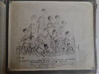 WW2 Photo Cartoon Picture Of all Australian War Corespondents  4 Mie Moresby