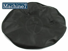 Classic VW Bay Window Split Screen Camper Spare Wheel Cover Black Vinyl Bus -79