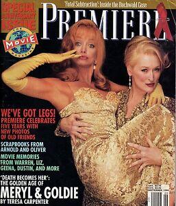 1992 Premiere September-Brad Pitt;Goldie Hawn; Meryl Streep; Tim Robbins; Willis