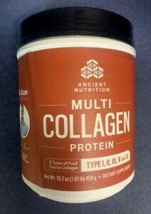 Dr. Axe Multi-Collagen Protein Powder -5 Types  Collagen 16.2 oz BB 2/21
