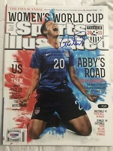 2015 USWNT World Cup Signed Sports Illustrated preview Magazines all 4! PSA