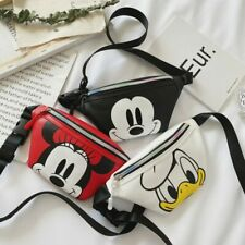 New Disney Fanny Pack Boy-Girl Waist Shoulder Bag Belt bag Fashion Crossbody Bag