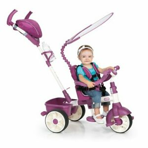 Little Tikes 4-in-1 Sports Edition Trike (Pink/White) ~ Brand New In Box