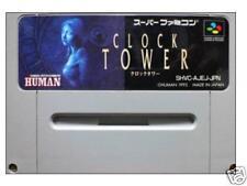CLOCK TOWER SNES Nintendo Super famicom SFC Japan 1