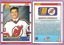 1990-91 Score Martin Brodeur RC New Jersey Devils