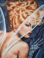 PAMELA Anderson, Olivia De Berardinis art, Signed #3