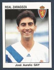 PANINI FUTBOL 93-94 SPANISH -#355-REAL ZARAGOZA-JOSE AURELIO GAY