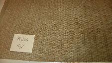 Beige Tan Hobnail Print Chenille Upholstery Fabric 1 Yard R236