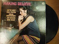 33 RPM Vinyl Dottie West Making Believe Nashville Records Stereo   012815SM