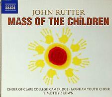 John Rutter - Mass of the Children; Wedding Canticle; Shadows BROWN/CAMBRIDGE CD