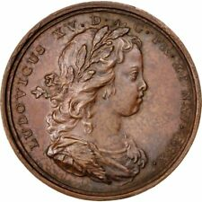 [#62858] FRANCE, Politics, Society, War, Louis XV, Medal, 1719, AU(55-58)