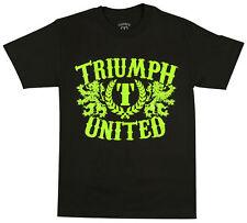 Triumph United Mens Dana White T-Shirt - Black/Green - Small