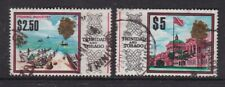 TRINIDAD AND TOBAGO 1965 $2.50 AND $5 DEFINITIVES FINE USED