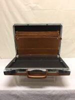 Vintage Samsonite Light Brown Briefcase Hard Case NO KEYS INCLUDED