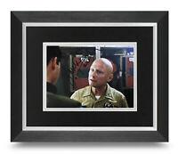 James Tolkan Signed 10x8 Framed Photo Display Top Gun Autograph Memorbailia COA