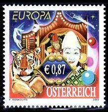 TEMA EUROPA 2002 AUSTRIA El Circo 1v.