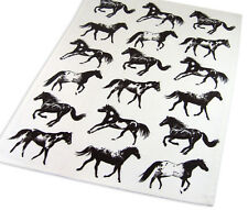 Horse Kitchen Towel | Appaloosa Paint Pictorial | Cotton | White