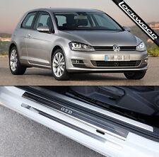 VW Golf Mk7 GTD (publicado 2013) 2 Puertas Umbral Protectores/Kick placas