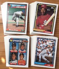 1992 Topps - You Pick Any 30 Cards to Complete Your Set - Stars Rookies
