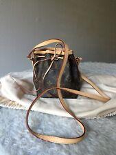 Louis Vuitton Monogram Nano Noe Crossbody Shoulder Bag