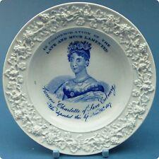 c1817 Princess Charlotte Pearlware Nursery Plate
