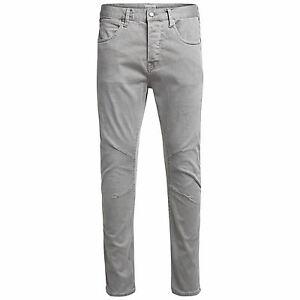 Mens Jeans JACK & JONES JJILUKE JJECHO Stetch Antifit Denim Pants