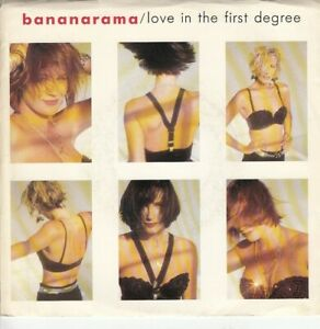 Bananarama Love In The First Degree b/w Ecstasy (PS) 45-rpm Record EX
