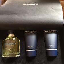 profumo uomo Dolce & Gabbana Pour Homme 75 ml Set Completo Vintage