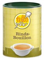 Rindsbouillon, Fleischbrühe, herzhafter Geschmack - tellofix (0,39 EUR pro l)