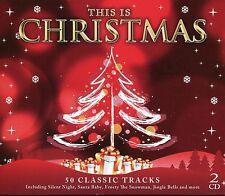 THIS IS CHRISTMAS - 2 CD BOX SET - SANTA BABY, JINGLE BELLS & MANY MORE