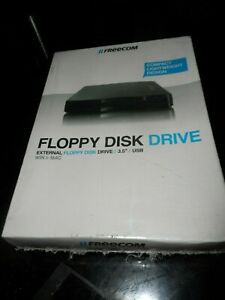 NEW VINTAGE SEALED FREECOM FLOPPY DISK DRIVE