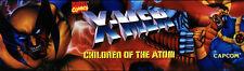 X-Men Children of the Atom Arcade Marquee For Header/Backlit Sign
