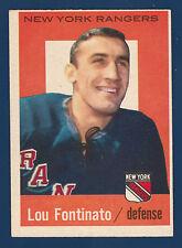LOU FONTINATO  59-60 TOPPS 1959-60 NO 5 EXMINT 4
