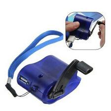 Usb Hand Crank Emergency Power Phone Charger Manual Charging Dynamo Generator