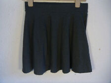 H&M Cotton Blend Patternless Short/Mini Skirts for Women