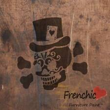 Jeu Jack Skull Stencil Tattoo frenchic chalkpaint A4 Meubles Decal Art
