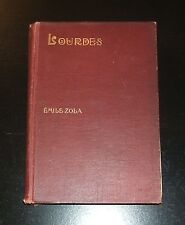 1894 LOURDES by Emile Zola, 1st U.S. Edition, F. Tennyson Neely