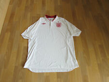 Umbro ENGLAND White WELBECK No 9 on back FOOTBALL Shirt Size 50 c 2XL NEW + TAGS