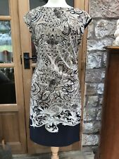 WALLIS BEAUTIFUL SUMMER EVENING PARTY DAY HOLIDAY TUNIC DRESS SIZE 16