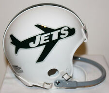 1963  New York Jets Riddell Custom 1 Bar Mini Helmet - Don Maynard
