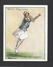 WILLS - LAWN TENNIS, 1931 - #12 MISS HELEN JACOBS