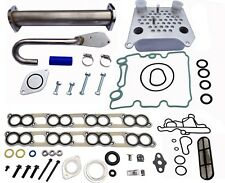 Upgraded HI FLOW Oil Cooler Kit & EGR Delete + Gaskets 2003-10 Ford Diesel 6.0L