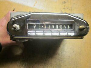 FoMoCo Radio circa early 50's fits Lincoln?