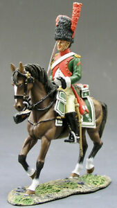 King & Country KCS073 Dragoon Elite Company Mounted Toy Soldier