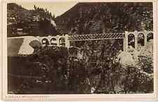 Gabler, Interlaken, Wassen, Gotthardbahn vintage albumen print Tirage albuminé