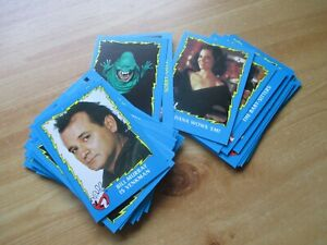 TOPPS PICTURE TRADING CARDS: GHOSTBUSTERS II.