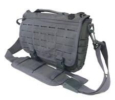 Bolso tactico 7,5 litros molle laser gris titanium militar viaje hombro