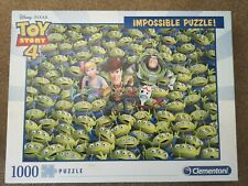Clementoni Impossible Disney Toy Story 4 1000 Piece Jigsaw Puzzle Alien Pixar